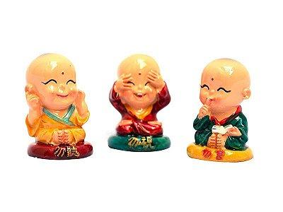 Monges Budistas (Surdo, Cego e Mudo)