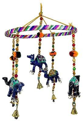 Móbile Indiano Redondo Camelos