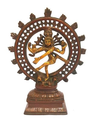 Escultura Shiva em Bronze
