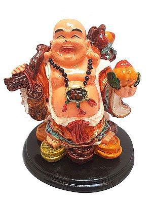Escultura em Resina Buda Feliz