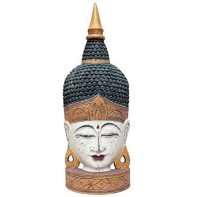 Escultura Cabeça de Buda Antique 70cm - Bali