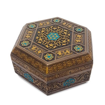Caixa Decorativa Hexágono