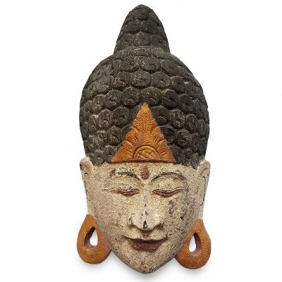 Máscara Buda Antique 50cm - Bali