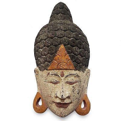 Máscara Buda Antique 50cm - Bali