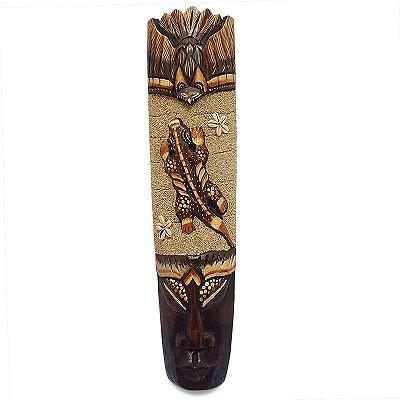 Máscara Decorativa c/ Areia 50cm - Gecko