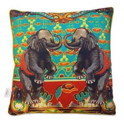 Almofada Colorida Elefante Indiano