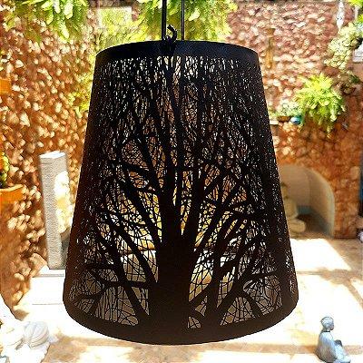 """Lanterna de Ferro """"Árvores Secas"""""""