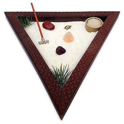 Jardim Zen Triângulo 32cm