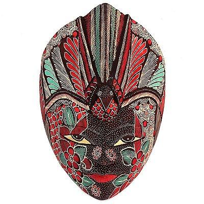 Máscara Batik Decorativa 28cm