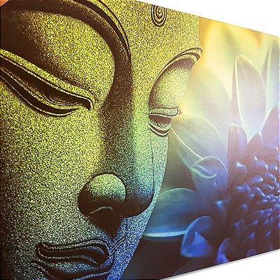 Quadro de Buda e Lótus 60x90cm