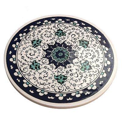 Descanso de Panela em Cerâmica Turca