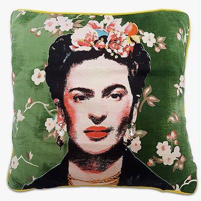 Capa de Almofada Frida Kahlo 45x45cm