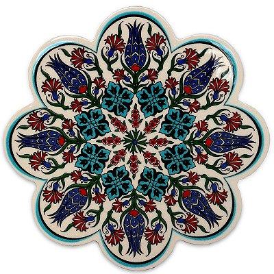 Descanso de Panela Cerâmica Turca