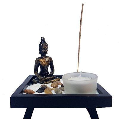 """Jardim Zen c/ Porta Vela """"Buda Zen"""""""