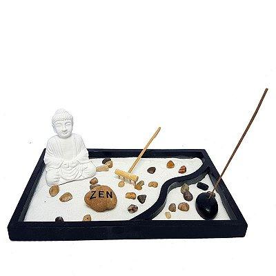 "Jardim Zen Oriental ""Buda Meditando"""