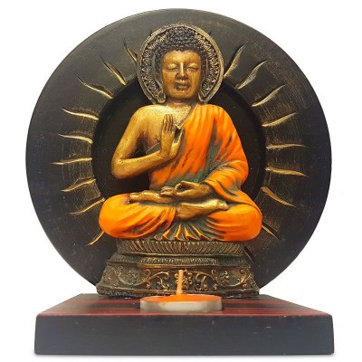 Estátua Porta-Vela Buda