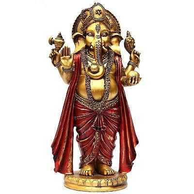 Estátua Deus Ganesh em Resina