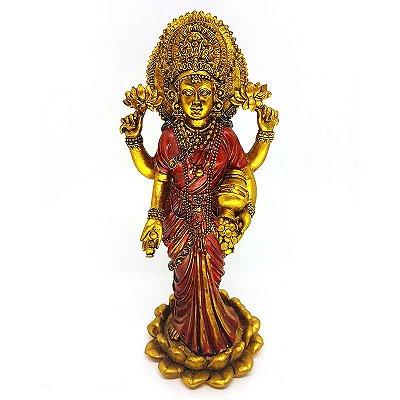 Estátua Deusa Hindu Lakshmi