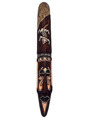 """Máscara """"Esqueleto Gecko"""" Bali 100cm"""