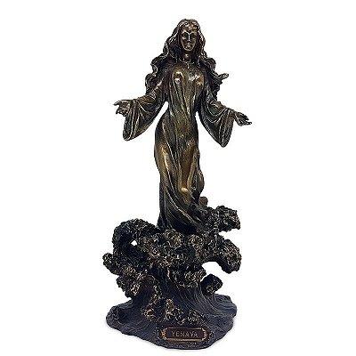 """Estátua Iemanjá """"Rainha das Águas"""""""