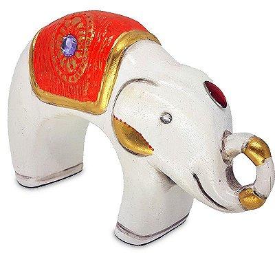 Elefante Indiano em Cerâmica