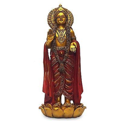 Estátua Hindu Deus Vishnu