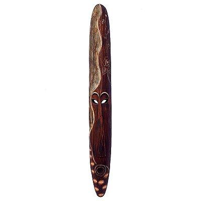 Máscara em Madeira Tribal 100cm