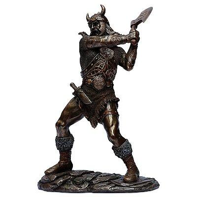 Estátua Guerreiro Viking