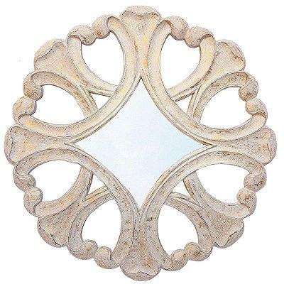 Espelho c/ Moldura Rústica 95cm - Bali