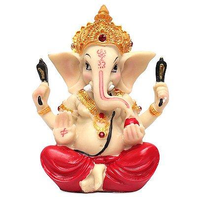Estátua Deus Ganesh OM