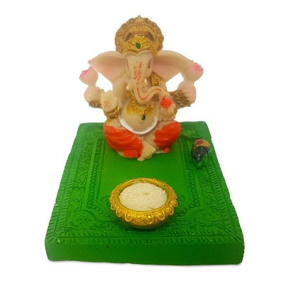 Incensário Colorido Deus Ganesh
