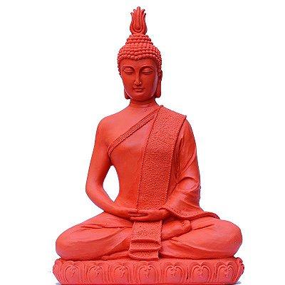 Escultura Buda Tailandês em Marmorite