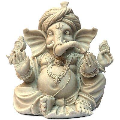 Escultura Ganesh c/ Turbante
