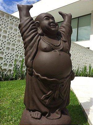 Escultura Buda Feliz 105cm