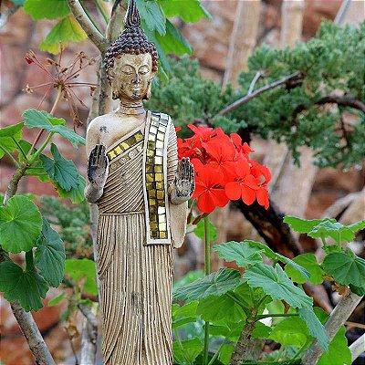 Estátua Buda Tailandês em Pé