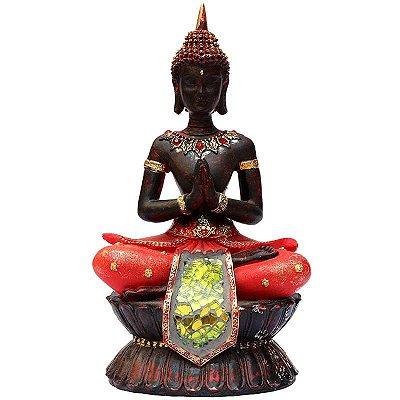 Estátua Buda Tailandês Meditando