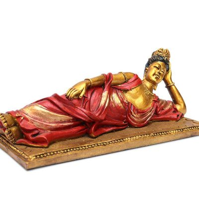 Estátua Kuan Yin Deitada
