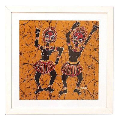 Quadro Tela Dança Tribal - Bali