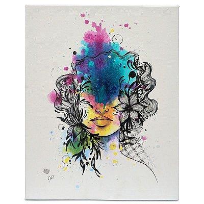 """Tela """"Colori-se...Se Envolva"""" - Mari Pavanelli"""