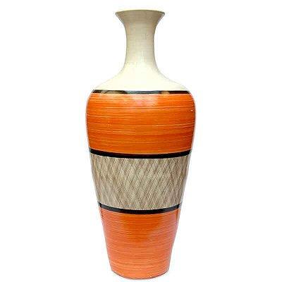 Vaso Em Cerâmica De Bali