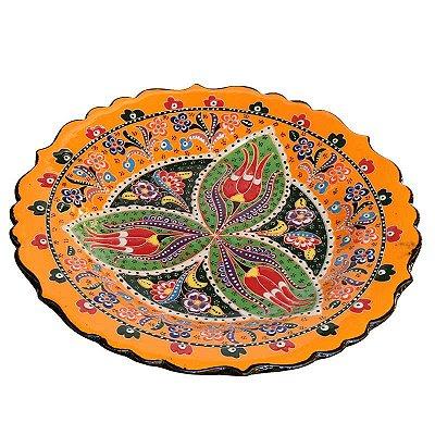 Prato Cerâmica Turca Iznik 25cm