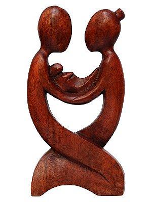 "Escultura Abstrata ""Família Unida"""