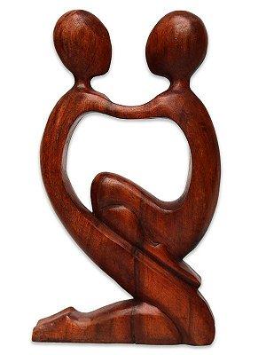 "Escultura Abstrata ""Amor Paterno"""