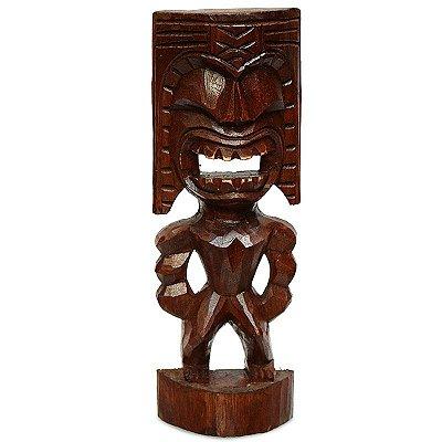 Escultura Primitiva Tiki Havaiana