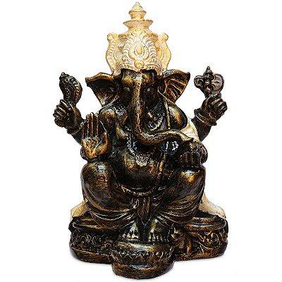Estátua Lord Ganesh Em Resina Bali