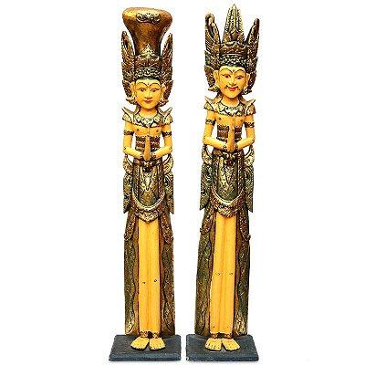 Casal Rama e Sita Gold 125cm