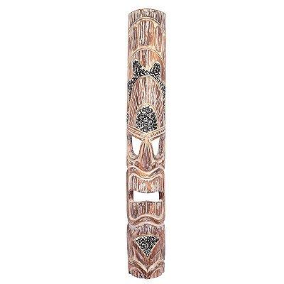 Máscara Rústica Hawaiana Pátina 100cm