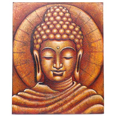 "Tela ""Buda O Iluminado"" 120x100cm"