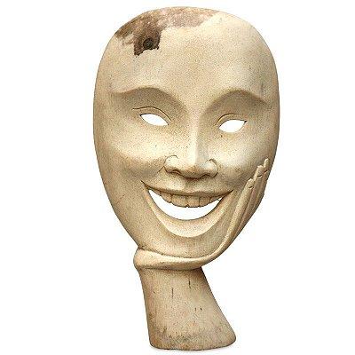 """Máscara """"O Sorridente"""" Teatro Grego"""
