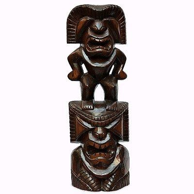 Escultura Totem Primitivo Tiki